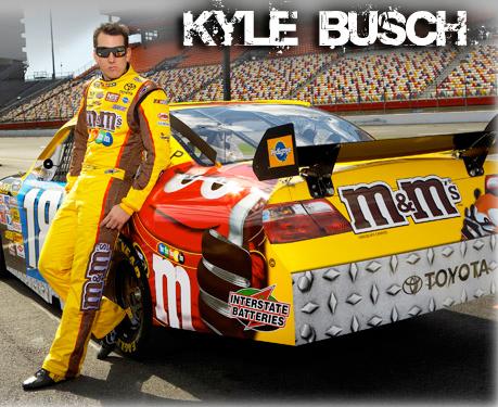 Kyle Busch/USA – Nascar Sprint,Nationwide,Trucks – 1047 pts